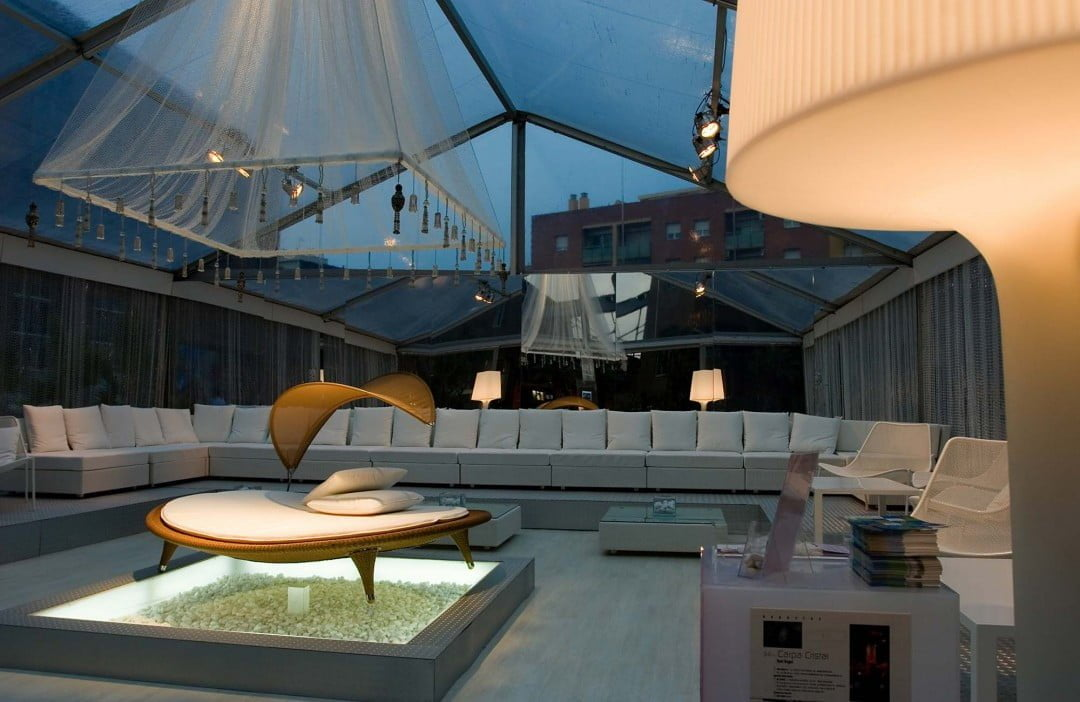 Casa Decor: Carpa Cristal