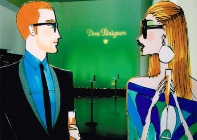 Don Perignon: Champagne and fashion